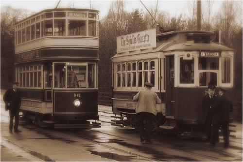 003 Trams in bygone years