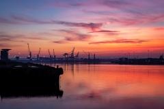 Customs Sunset