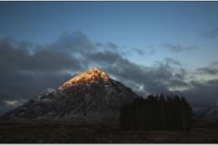 Winter Morning Rannoch Moor